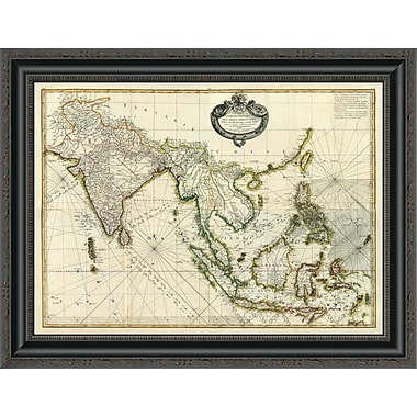 East Urban Home 'Composite: Indes; 1771' Framed Print; 19'' H x 26'' W x 1.5'' D