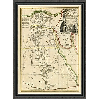 East Urban Home 'L'Egypte; 1782' Framed Print; 26'' H x 30'' W x 1.5'' D