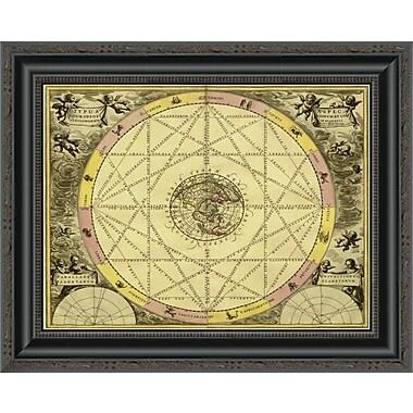 East Urban Home 'Maps of the Heavens: Typhus Aspec' Framed Print; 22'' H x 20'' W x 1.5'' D