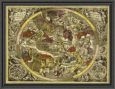 East Urban Home 'Maps of the Heavens: Coelistellati Christianina' Framed Print