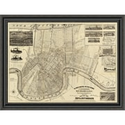 East Urban Home 'The World's Industrial and Cotton Centennial Exposition; 1885' Framed Print
