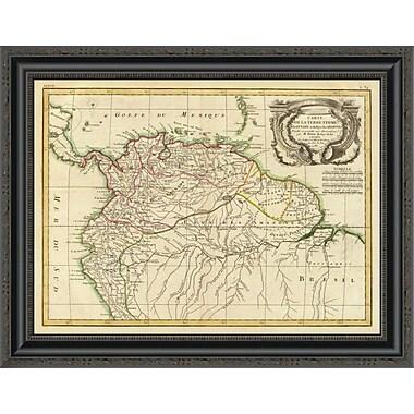 East Urban Home 'Terre Ferme; Guyane; Amazones; 1785' Framed Print; 20'' H x 26'' W x 1.5'' D