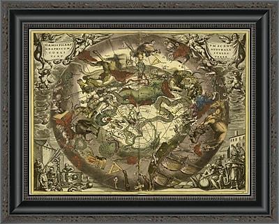 East Urban Home 'Maps of the Heavens: Haemisphaerium Sceno Graphicum Australe' Framed Print