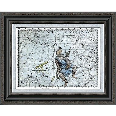 East Urban Home 'Maps of the Heavens: Auriga the Charioteer' Framed Print; 22'' H x 20'' W x 1.5'' D