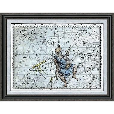 East Urban Home 'Maps of the Heavens: Auriga the Charioteer' Framed Print; 34'' H x 36'' W x 1.5'' D