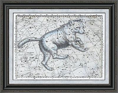 East Urban Home 'Maps of the Heavens: Ursa Major - the Great Bear' Framed Print
