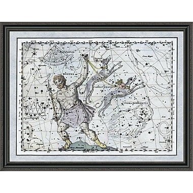 East Urban Home 'Maps of the Heavens: Bootes the Hunter and His Hounds' Framed Print