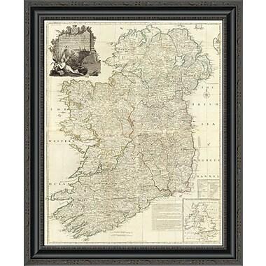 East Urban Home 'Composite: Ireland; 1790' Framed Print; 21'' H x 23'' W x 1.5'' D