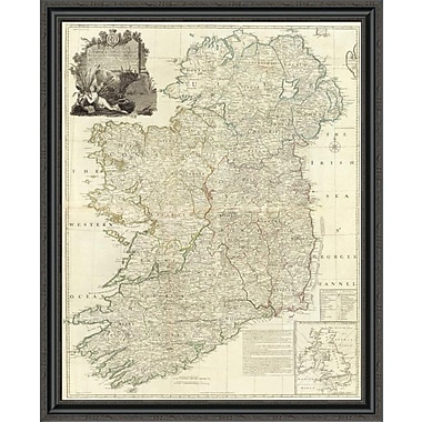 East Urban Home 'Composite: Ireland; 1790' Framed Print; 32'' H x 34'' W x 1.5'' D