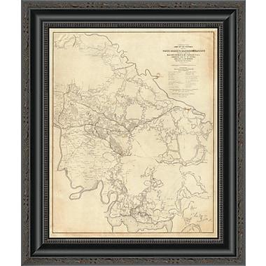 East Urban Home 'Civil War - White House to Harrisons Landing; 1862' Framed Print