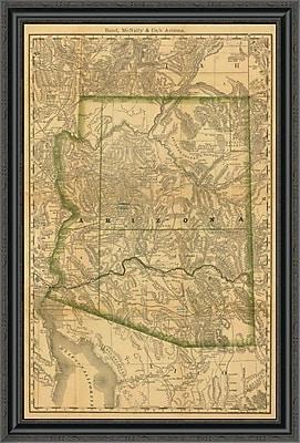 East Urban Home 'Arizona; 1879' Framed Print; 25'' H x 27'' W x 1.5'' D