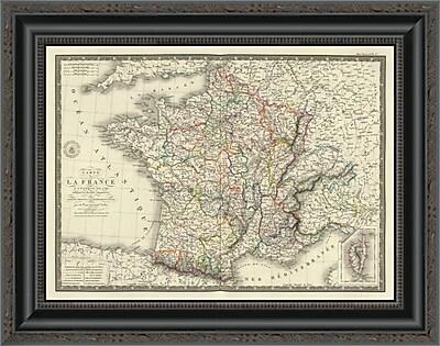 East Urban Home 'France a L'Epoque De 1789' Framed Print; 20'' H x 20'' W x 1.5'' D