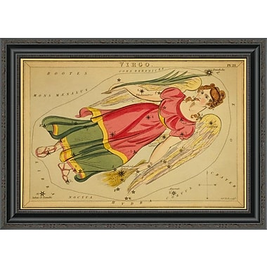 East Urban Home 'Virgo; 1825' Framed Print; 24'' H x 28'' W x 1.5'' D