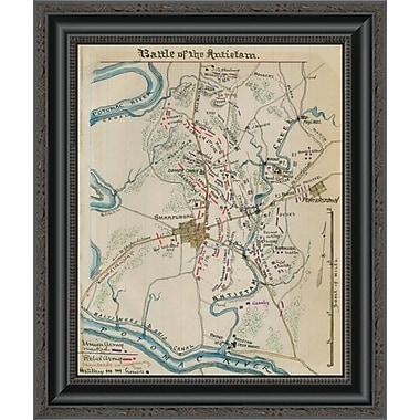 East Urban Home 'Battle of Antietam or Sharpsburg #1' Framed Print; 33'' H x 17'' W x 1.5'' D
