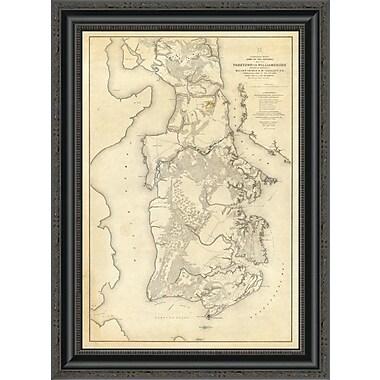 East Urban Home 'Civil War - Yorktown to Williamsburg; 1862' Framed Print; 20'' H x 19'' W x 1.5'' D