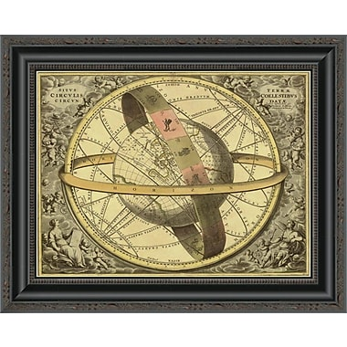 East Urban Home 'Maps of the Heavens: Circulis Coelestibus' Framed Print; 22'' H x 20'' W x 1.5'' D