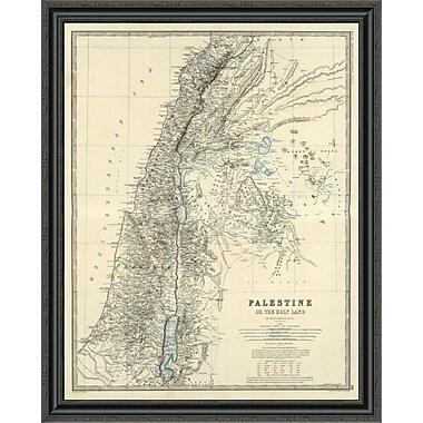 East Urban Home 'Palestine; 1861' Framed Print; 32'' H x 32'' W x 1.5'' D