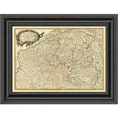 East Urban Home 'Pays Bas Meridionale; 1780' Framed Print; 26'' H x 20'' W x 1.5'' D
