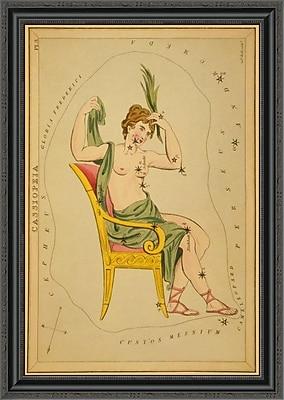East Urban Home 'Cassiopeia; 1825' Framed Print; 16'' H x 24'' W x 1.5'' D