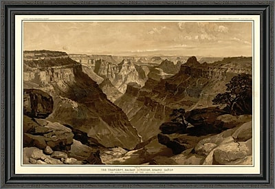 East Urban Home 'Grand Canyon - the Transept; Kaibab Division; 1882' Framed Print