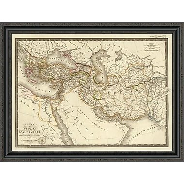 East Urban Home 'L'Empire D'Alexandre; 1822' Framed Print; 34'' H x 34'' W x 1.5'' D