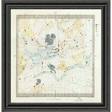 East Urban Home 'Celestial Anno 1830. No. 3. March; April; May.; 1844' Framed Print