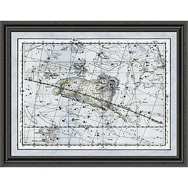 East Urban Home 'Maps of the Heavens: Aries the Ram' Framed Print; 34'' H x 36'' W x 1.5'' D