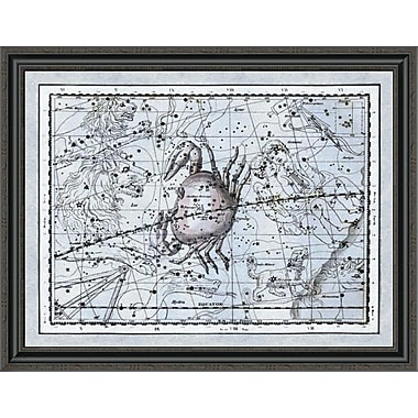 East Urban Home 'Maps of the Heavens: Cancer - the Crab' Framed Print; 34'' H x 36'' W x 1.5'' D