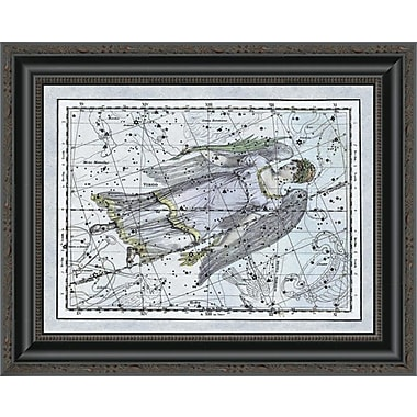 East Urban Home 'Maps of the Heavens: Virgo the Maiden' Framed Print; 22'' H x 20'' W x 1.5'' D
