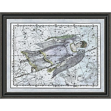 East Urban Home 'Maps of the Heavens: Virgo the Maiden' Framed Print; 34'' H x 36'' W x 1.5'' D