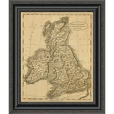 East Urban Home 'United Kingdoms; 1812' Framed Print; 40'' H x 17'' W x 1.5'' D