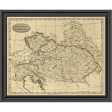East Urban Home 'Austrian Dominions; 1812' Framed Print; 34'' H x 34'' W x 1.5'' D
