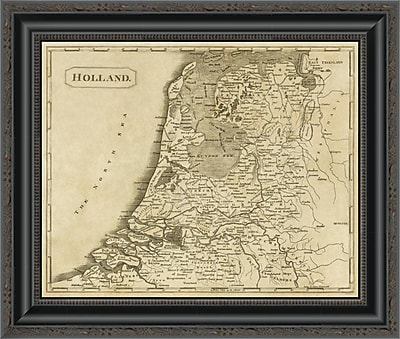 East Urban Home 'Holland; 1812' Framed Print; 20'' H x 20'' W x 1.5'' D