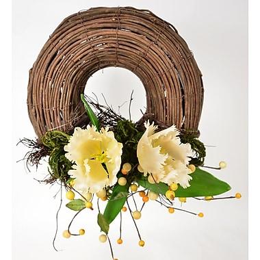 Fantastic Craft Parrot Tulip 14'' Wreath