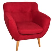 George Oliver Aydan Arm Chair; Red