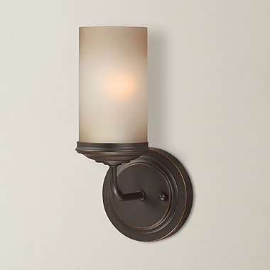 Gracie Oaks Doris 1-Light Wall Sconce; 100W A19 Medium