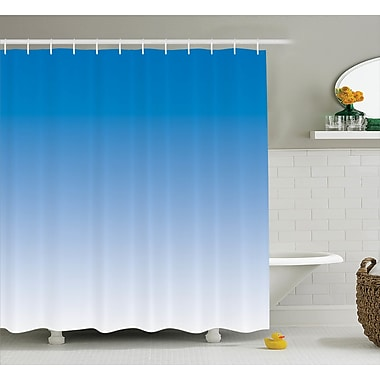 Harriet Bee Fred Skyscape for Blue Lovers Print Shower Curtain; 69'' W x 75'' L