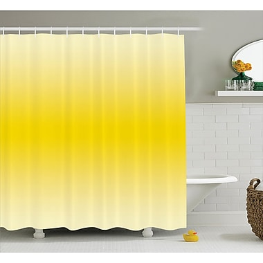 Harriet Bee Fred Sunny Summer Themed Art Shower Curtain; 69'' W x 75'' L