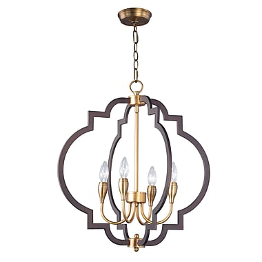 Everly Quinn Astin 4-Light Candle Style Chandelier