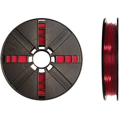 MakerBot Translucent Red PLA Filament, Large Spool