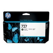 HP 727 130ml High-Yield Matte Black Ink Cartridge (B3P22A)