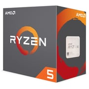 AMD Ryzen 5 1600X Hexa-Core Processor, 12-Thread, AM4 Socket, 3.6 GHz, 95W (YD160XBCAEWOF)