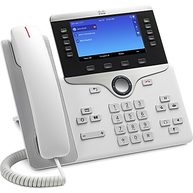 Cisco 8851 IP Phone, Remanufactured, Cable, Desktop, Wall Mountable