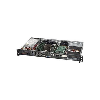 Supermicro SuperServer 5018D-FN8T 1U Rack-mountable Server, 1 x Intel Xeon D-1518 4-Core 2.20 GHz DDR4 SDRAM
