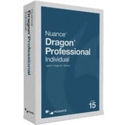 Nuance Dragon v.15.0 Professional Individual, Box Pack, 1 User, Academic