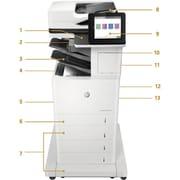 HP LaserJet M631z Laser Multifunction Printer, Monochrome, Plain Paper Print, Floor Standing