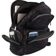 """ECO STYLE Tech Savvy Carrying Case (Backpack) for 16"""" Notebook, Tablet, iPad"""