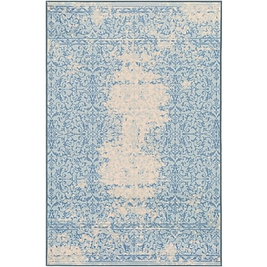 Ophelia & Co. Cassie Blue/Beige Area Rug; 5' x 8'