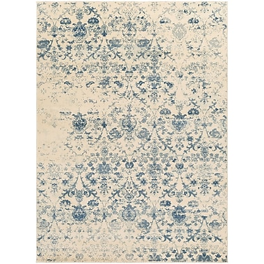 Ophelia & Co. Shailene Blue/Cream Area Rug; 8' x 10'
