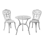 Ophelia & Co. Absecon All-Weather Outdoor 3 Piece Bistro Set